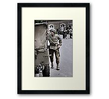Get Out'a Here Framed Print
