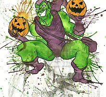 Green Goblin by yourkawaiidream