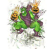 Green Goblin Photographic Print
