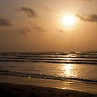 Sunrise on the Beach in Padre by Roschetzky