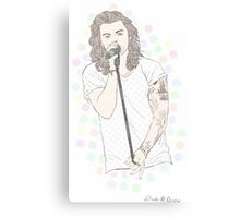 Pastel Harry  Canvas Print