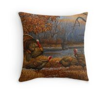 Root River Rendezvous Throw Pillow