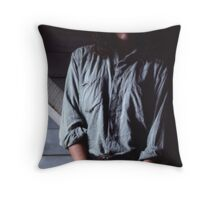 Kristi in Shadow Throw Pillow
