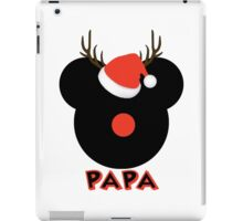 Mickey the Red Nose Mouse - Deer Dad Papa iPad Case/Skin