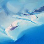 Bahama Banks Aerial Seascape by Roupen  Baker