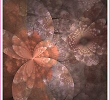 OLD ROSE FRACTAL VICTORIANA by Gea Austen