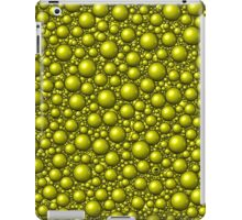 Bubbles Yellow iPad Case/Skin