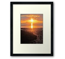 A Donegal Sunset 1, July 2012 Framed Print