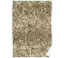 Floral Card Poster
