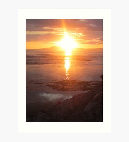 Donegal Sunset, Spiritual Fire, July 2012 Art Print
