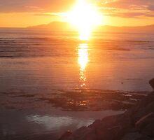 Donegal Sunset, Spiritual Fire, July 2012 by ArleneMartine