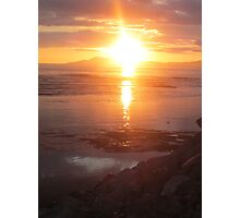Donegal Sunset, Spiritual Fire, July 2012 Photographic Print