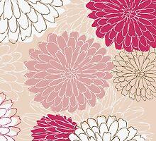 Floral Card by Nataliia-Ku