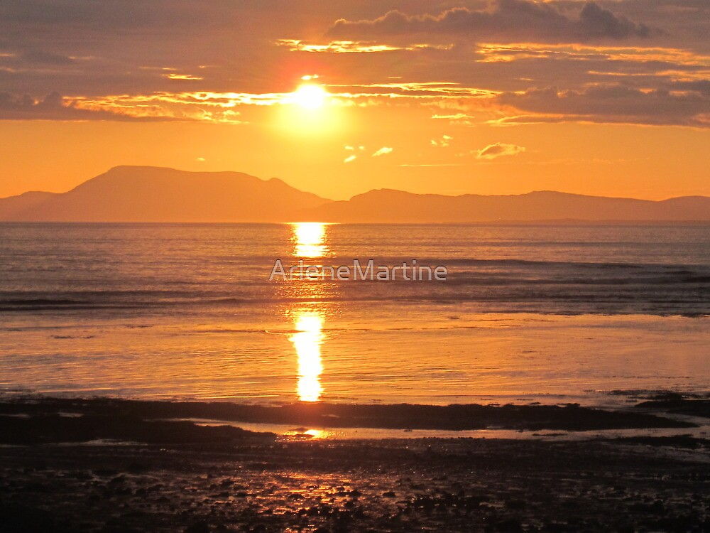 Donegal Sunset 3 by ArleneMartine