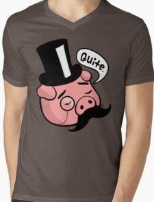 Top Pig Mens V-Neck T-Shirt