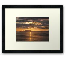 Donegal Sunset 5, July 2012 Framed Print