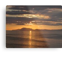 Donegal Sunset 5, July 2012 Metal Print