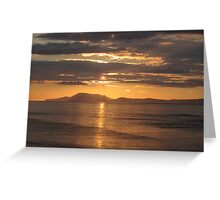 Donegal Sunset 5, July 2012 Greeting Card
