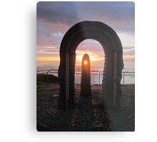 Donegal Sunset, Celtic Beams, July 2012 Metal Print
