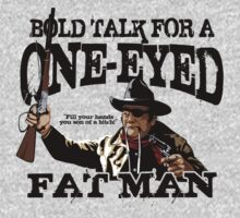 """""""One Eyed Fat Man"""" One Piece - Long Sleeve"""