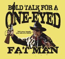 """""""One Eyed Fat Man"""" Kids Tee"""