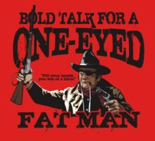 """One Eyed Fat Man"" Kids Tee"