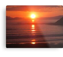 Donegal Sunset 6, July 2012 Metal Print