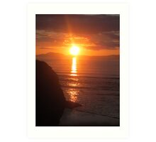 Donegal Sunset 8 Art Print