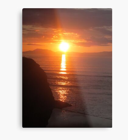 Donegal Sunset 8 Metal Print
