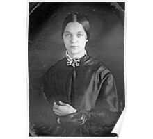 Great Great Grandmother Hayes, 1848 Poster