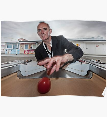 tim andrews - the red ball Poster