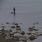 Foggy day fishing by Bluesrose