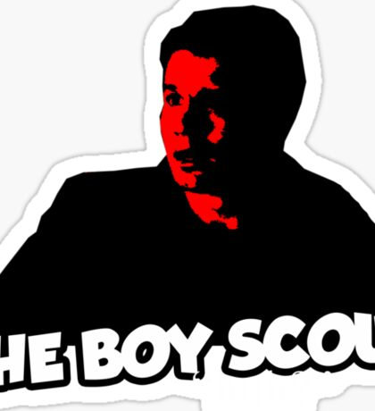 the tee - the boy scout Sticker