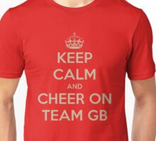 Keep calm and cheer on Unisex T-Shirt
