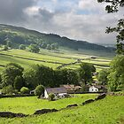 Kettlewell With Wharfdale Beyond by SteveMG