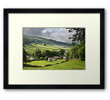 Kettlewell With Wharfdale Beyond Framed Print