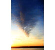 Cloud Taper Photographic Print