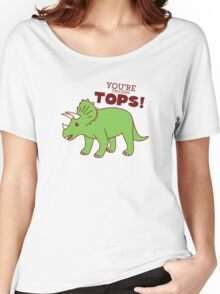 You're Tricera-TOPS! Women's Relaxed Fit T-Shirt