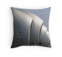 The Thames Barrier Throw Pillow