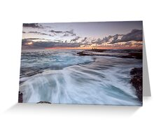 Distant Fishermen - Little Bay, NSW Greeting Card