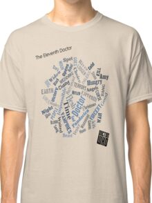 The Eleventh Doctor - Title Montage Classic T-Shirt