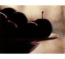 plums Photographic Print
