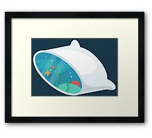 Cross Section: Pillow Framed Print