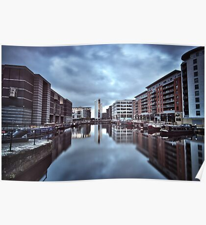 Clarence Dock Poster