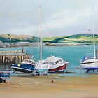 Lyme Regis Harbour by Karl Connolly