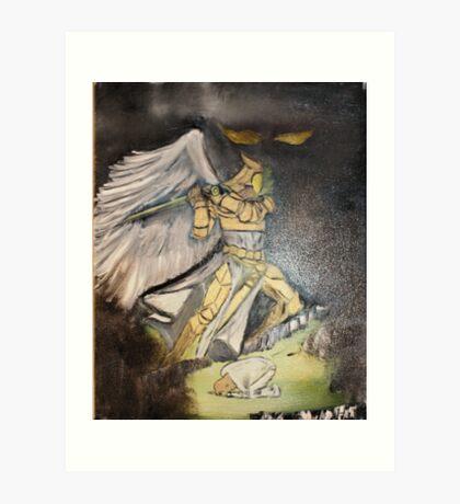 """Deliverance""  by Carter L. Shepard Art Print"