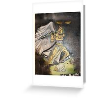 """Deliverance""  by Carter L. Shepard Greeting Card"