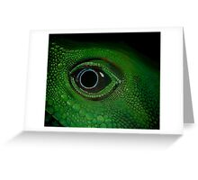 Chinese Waterdragon Greeting Card