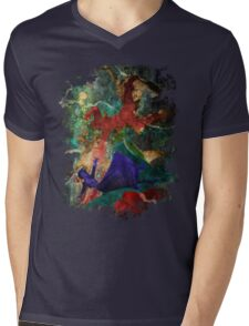 Bioshock Infinite Falling Mens V-Neck T-Shirt