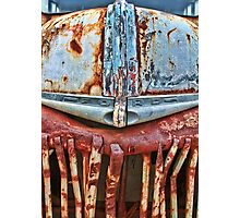 Bus Rust Photographic Print